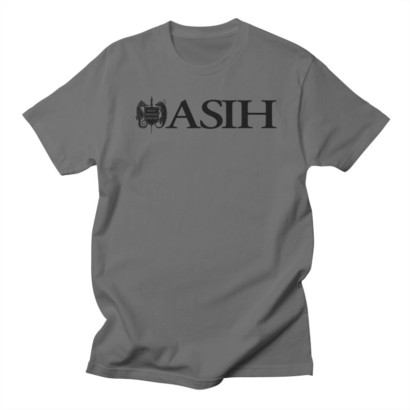 ASIH with Logo Men T-Shirt by Amer. Society of Ichthyologists & Herpetologists