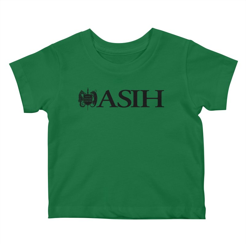 ASIH with Logo Kids and Babies Baby T-Shirt by Amer. Society of Ichthyologists & Herpetologists
