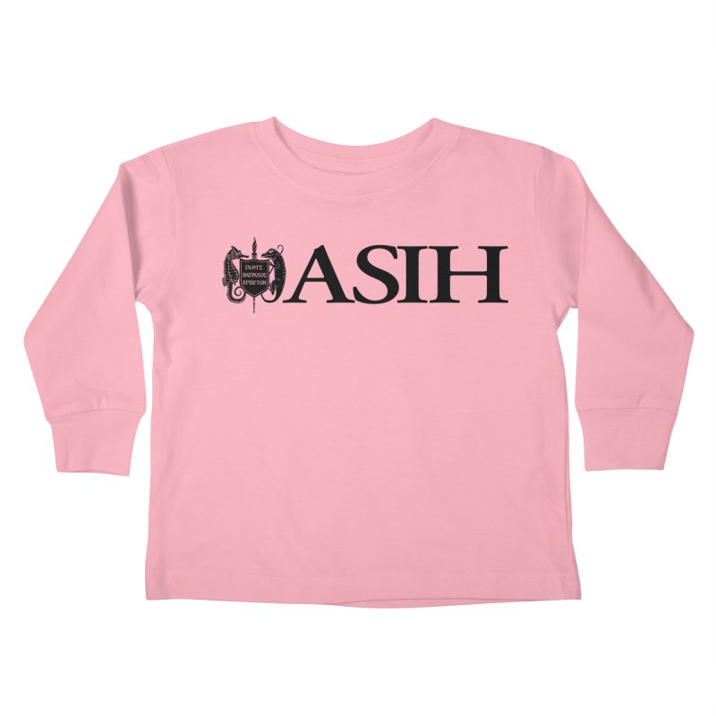 ASIH with Logo Kids and Babies Toddler Longsleeve T-Shirt by Amer. Society of Ichthyologists & Herpetologists
