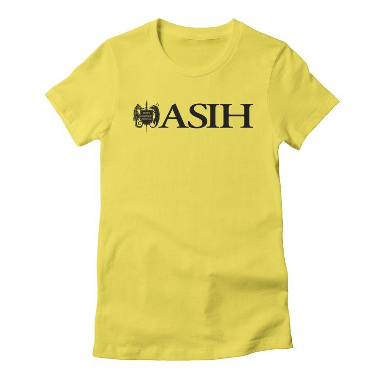 ASIH with Logo Women T-Shirt by Amer. Society of Ichthyologists & Herpetologists