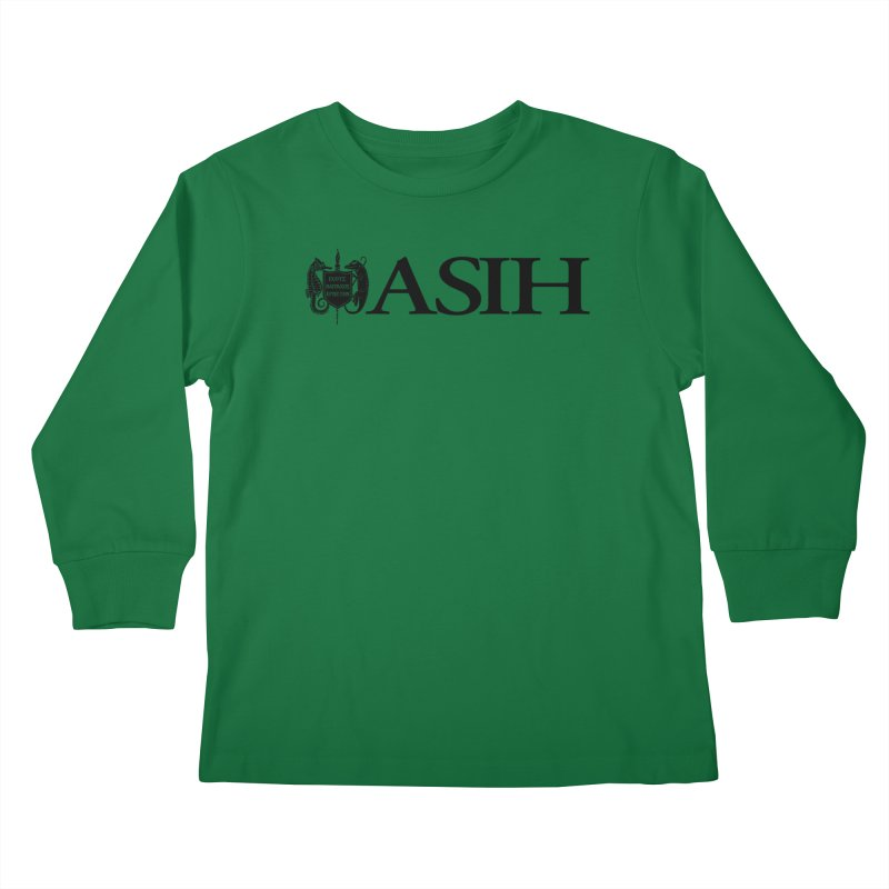 ASIH with Logo Kids and Babies Longsleeve T-Shirt by Amer. Society of Ichthyologists & Herpetologists