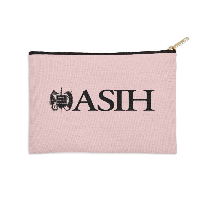 ASIH with Logo Masks, Mugs, Notebooks, and Fun Stuff Zip Pouch by Amer. Society of Ichthyologists & Herpetologists
