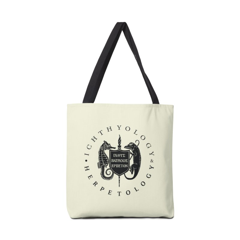 Ichthyology & Herpetology Black Logo Masks, Mugs, Notebooks, and Fun Stuff Bag by Amer. Society of Ichthyologists & Herpetologists