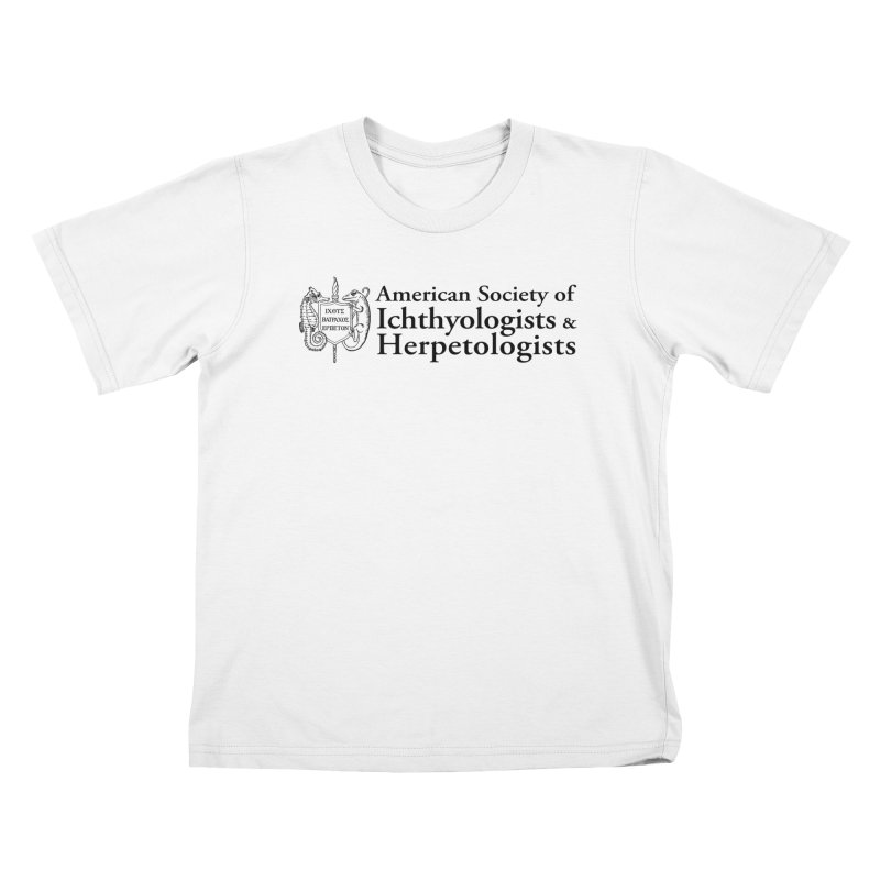 American Society of Ichthyologists and Herpetologists with Logo Kids and Babies T-Shirt by Amer. Society of Ichthyologists & Herpetologists