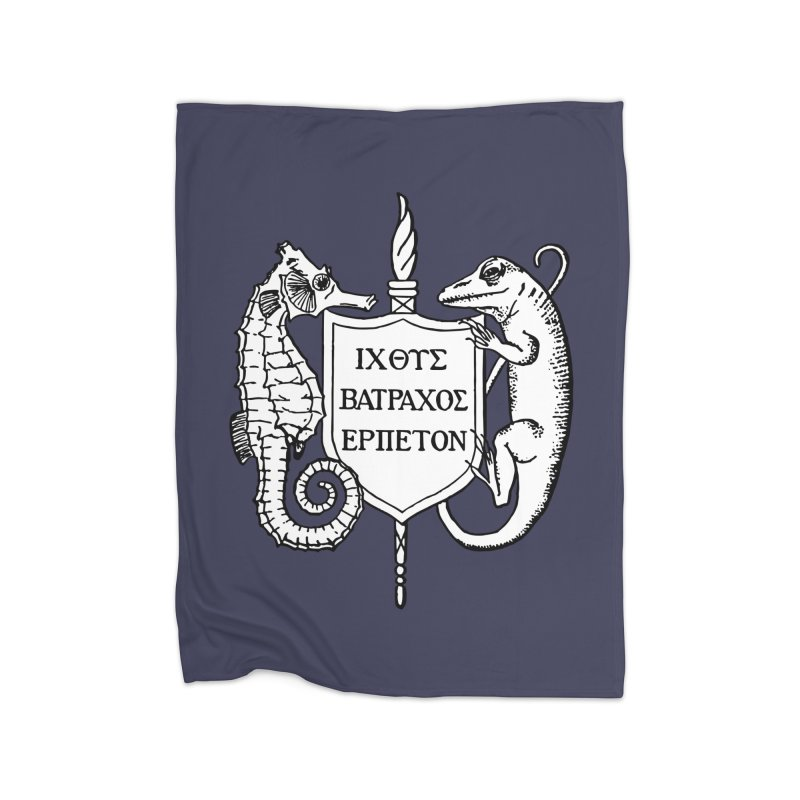 Logo Home Goods Blanket by Amer. Society of Ichthyologists & Herpetologists