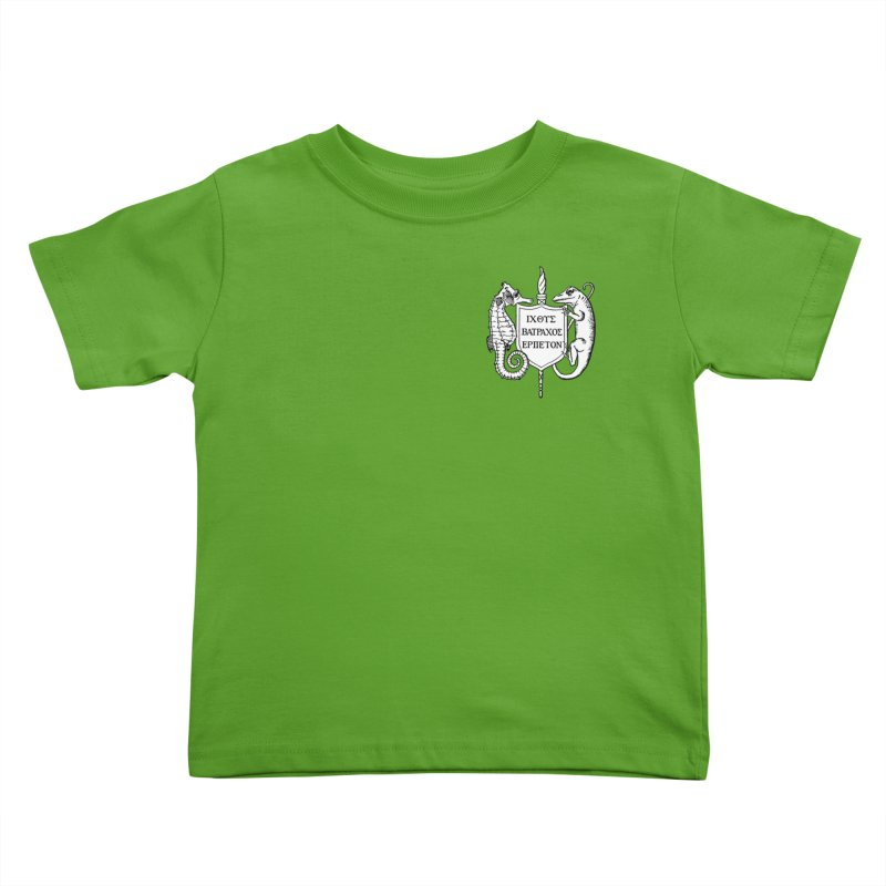 Logo Kids and Babies Toddler T-Shirt by Amer. Society of Ichthyologists & Herpetologists