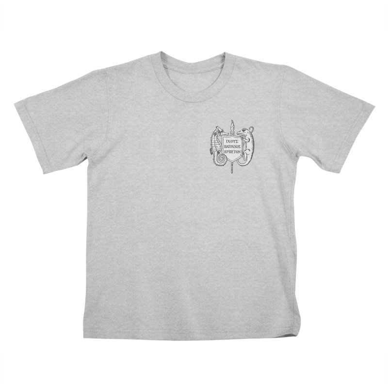 Logo Kids and Babies T-Shirt by Amer. Society of Ichthyologists & Herpetologists