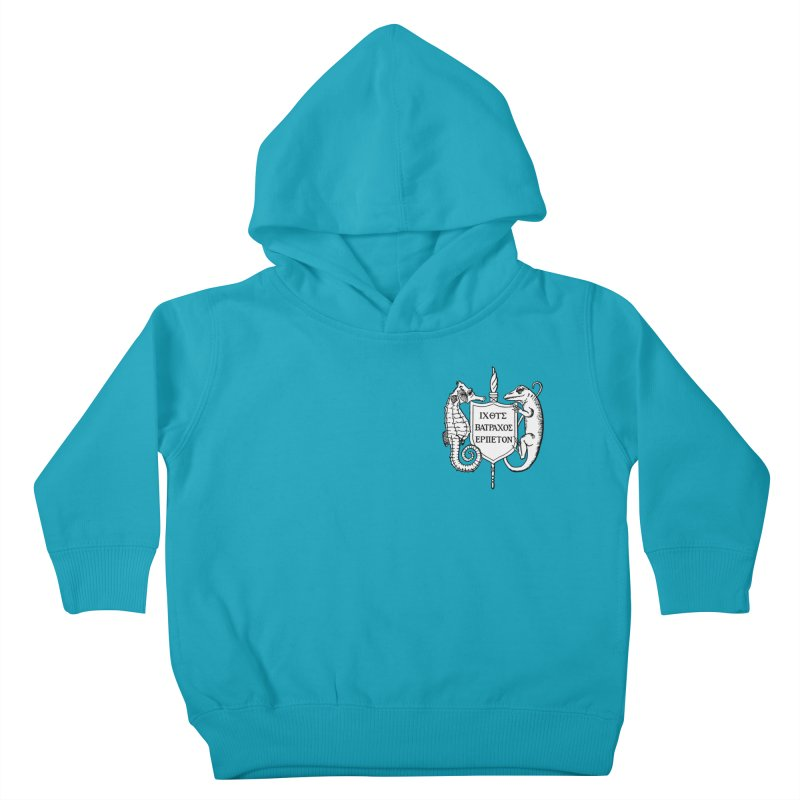 Logo Kids and Babies Toddler Pullover Hoody by Amer. Society of Ichthyologists & Herpetologists