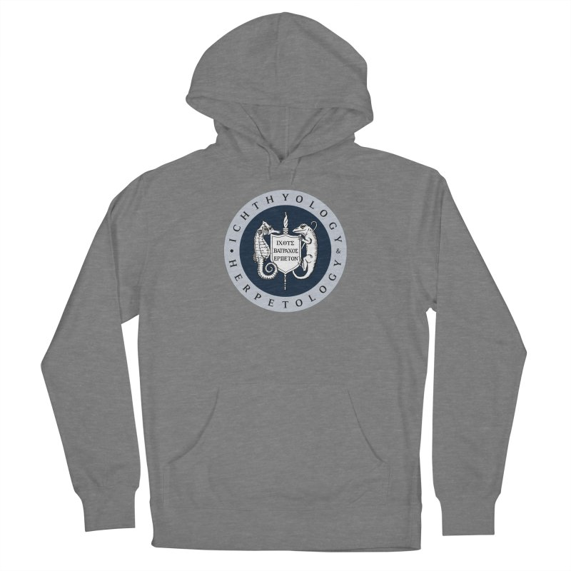 Ichthyology & Herpetology Color Logo — Large Women Pullover Hoody by Amer. Society of Ichthyologists & Herpetologists