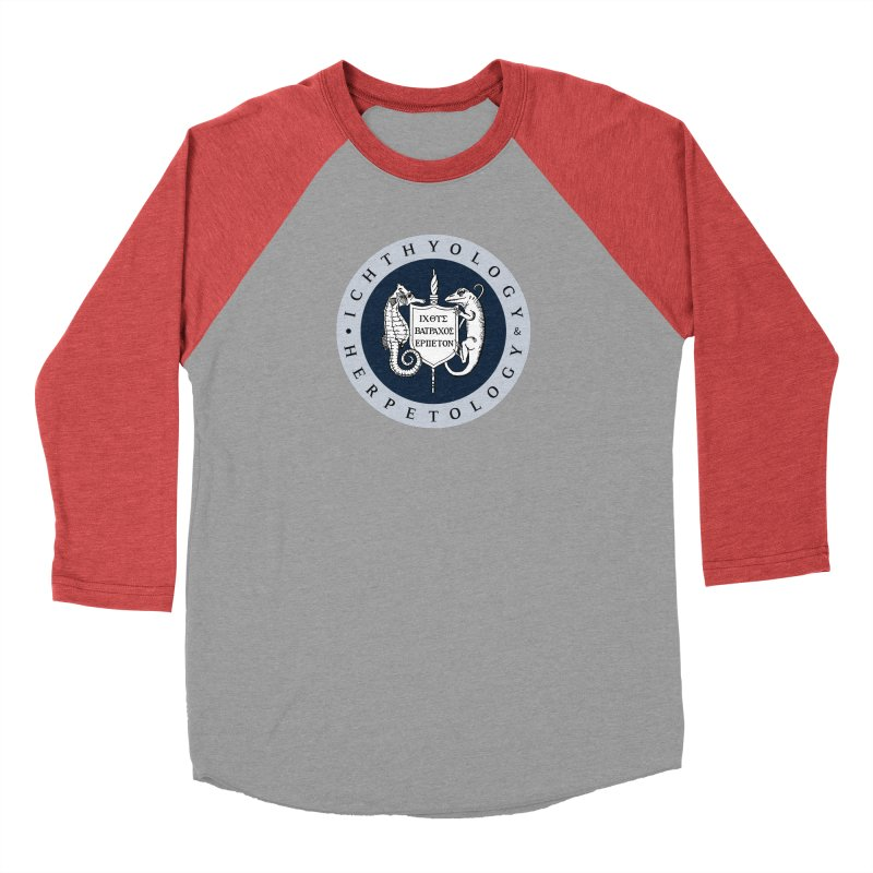 Ichthyology & Herpetology Color Logo — Large Men Longsleeve T-Shirt by Amer. Society of Ichthyologists & Herpetologists