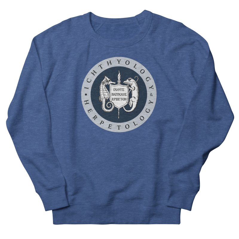 Ichthyology & Herpetology Color Logo — Large Men Sweatshirt by Amer. Society of Ichthyologists & Herpetologists