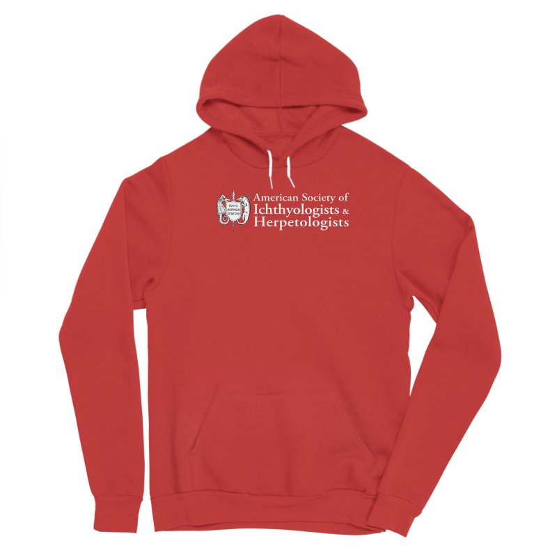 American Society of Ichthyologists and Herpetologists White with Logo Women Pullover Hoody by Amer. Society of Ichthyologists & Herpetologists