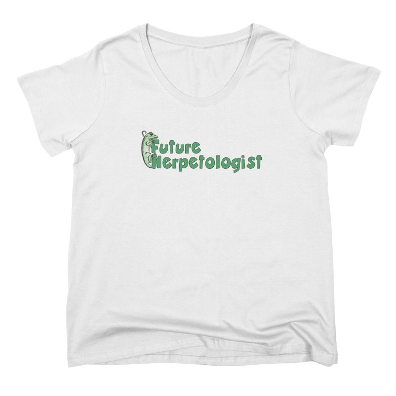 Future Herpetologist Green Women Scoop Neck by Amer. Society of Ichthyologists & Herpetologists