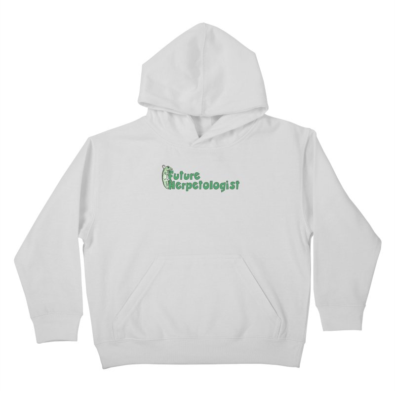 Future Herpetologist Green Kids and Babies Pullover Hoody by Amer. Society of Ichthyologists & Herpetologists