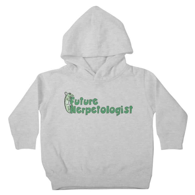 Future Herpetologist Green Kids and Babies Toddler Pullover Hoody by Amer. Society of Ichthyologists & Herpetologists