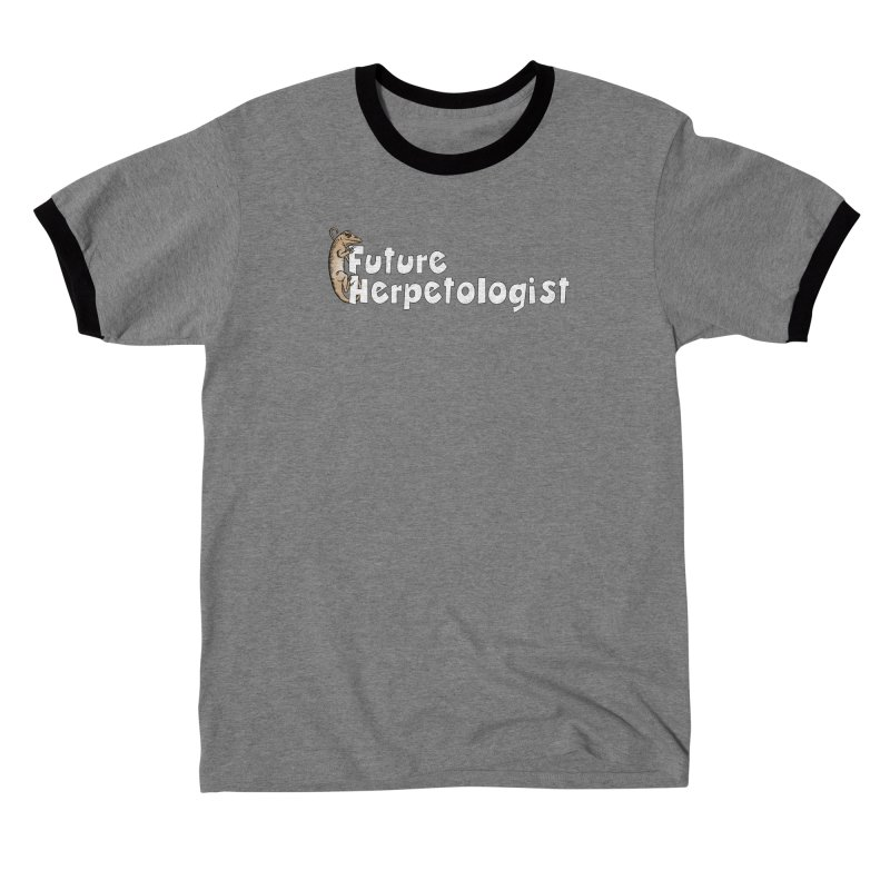 Future Herpetologist Brown and White Men T-Shirt by Amer. Society of Ichthyologists & Herpetologists