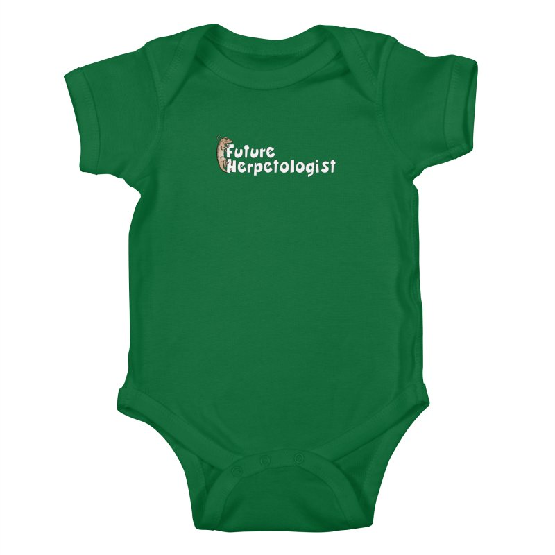 Future Herpetologist Brown and White Kids and Babies Baby Bodysuit by Amer. Society of Ichthyologists & Herpetologists
