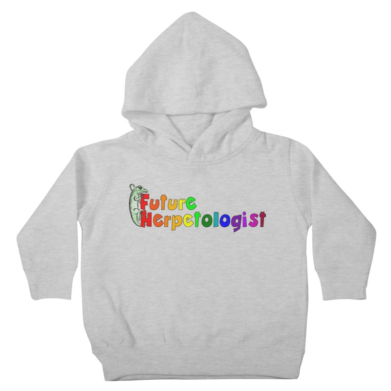 Future Herpetologist Rainbow Kids and Babies Toddler Pullover Hoody by Amer. Society of Ichthyologists & Herpetologists