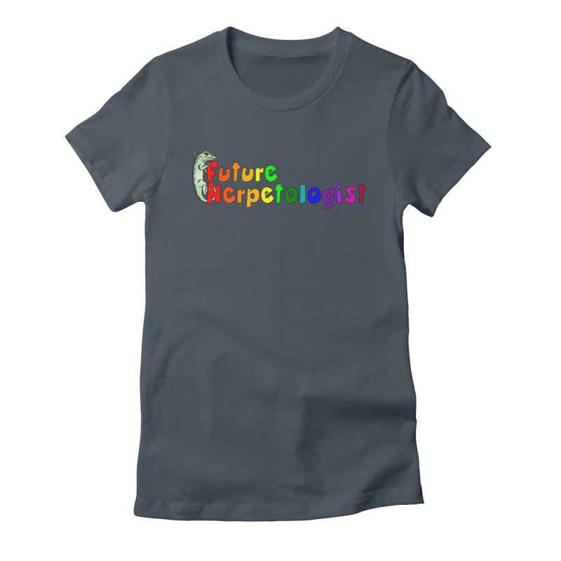 Future Herpetologist Rainbow Women T-Shirt by Amer. Society of Ichthyologists & Herpetologists