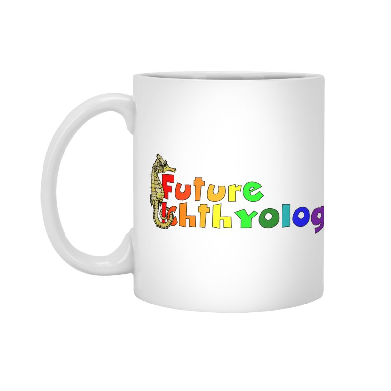 Future Ichthyologist Rainbow Masks, Mugs, Notebooks, and Fun Stuff Mug by Amer. Society of Ichthyologists & Herpetologists
