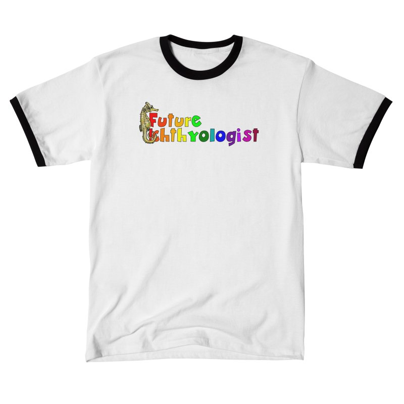 Future Ichthyologist Rainbow Men T-Shirt by Amer. Society of Ichthyologists & Herpetologists