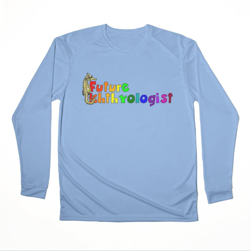 Future Ichthyologist Rainbow Men Longsleeve T-Shirt by Amer. Society of Ichthyologists & Herpetologists