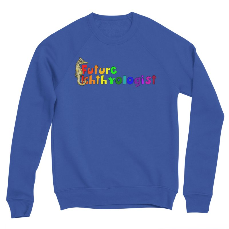 Future Ichthyologist Rainbow Men Sweatshirt by Amer. Society of Ichthyologists & Herpetologists