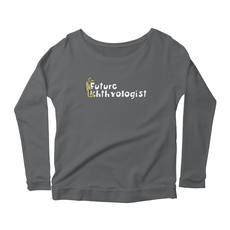 Future Ichthyologist Yellow and White Women Longsleeve T-Shirt by Amer. Society of Ichthyologists & Herpetologists
