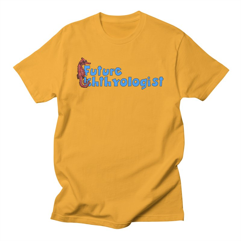 Future Ichthyologist Blue and Red Men T-Shirt by Amer. Society of Ichthyologists & Herpetologists