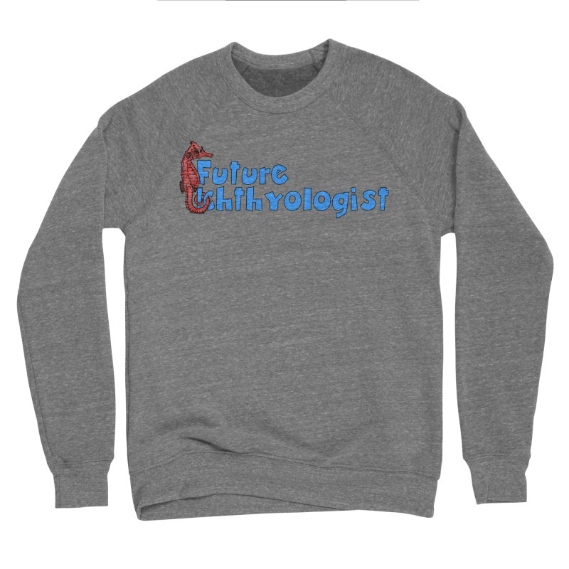 Future Ichthyologist Blue and Red Men Sweatshirt by Amer. Society of Ichthyologists & Herpetologists