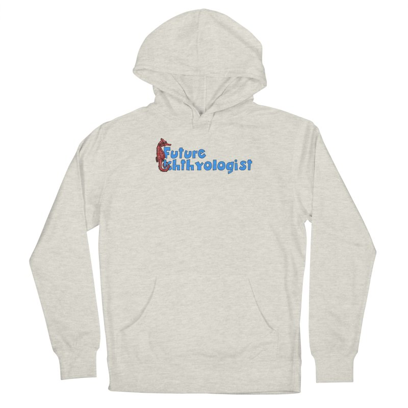 Future Ichthyologist Blue and Red Men Pullover Hoody by Amer. Society of Ichthyologists & Herpetologists