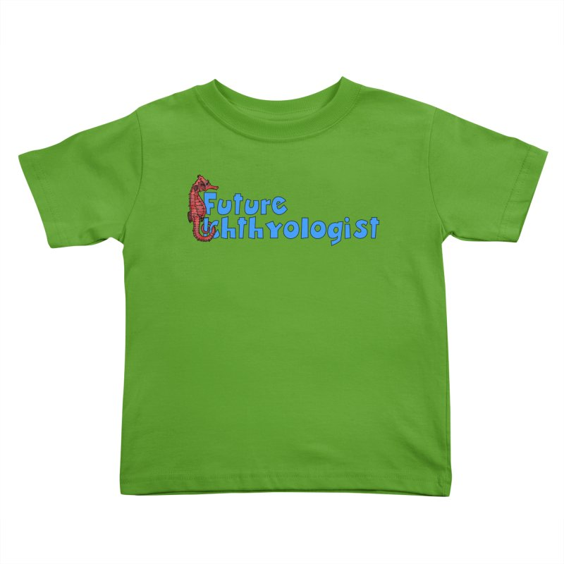 Future Ichthyologist Blue and Red Kids and Babies Toddler T-Shirt by Amer. Society of Ichthyologists & Herpetologists