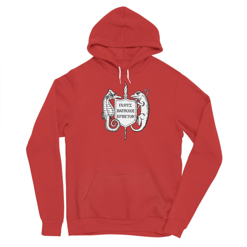 ASIH White Logo—Large Women Pullover Hoody by Amer. Society of Ichthyologists & Herpetologists