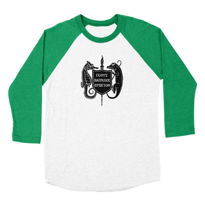 ASIH Black Logo—Large Men Longsleeve T-Shirt by Amer. Society of Ichthyologists & Herpetologists