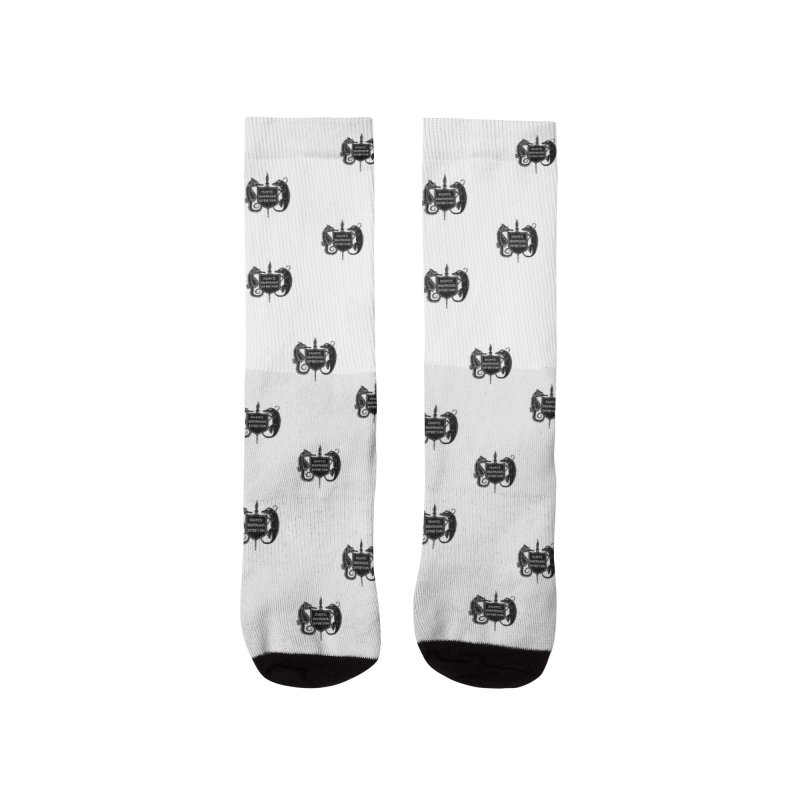 ASIH Black Logo—Large Women Socks by Amer. Society of Ichthyologists & Herpetologists