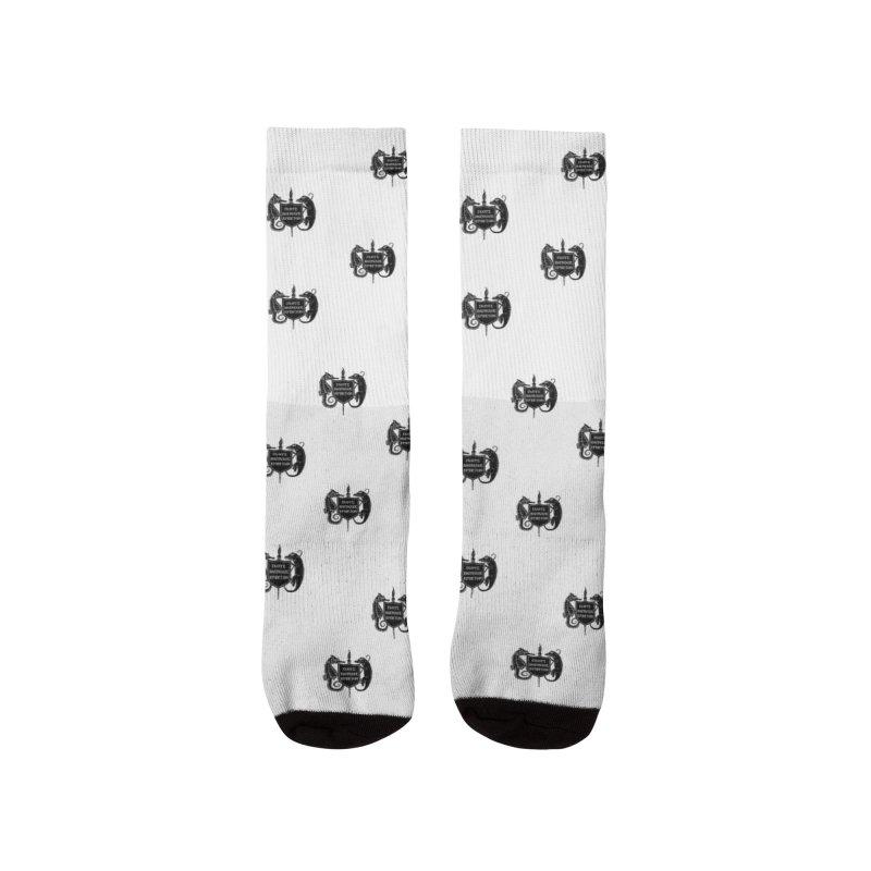 ASIH Black Logo—Large Men Socks by Amer. Society of Ichthyologists & Herpetologists