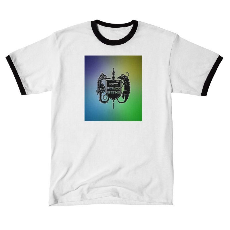 Rainbow Back Logo Women T-Shirt by Amer. Society of Ichthyologists & Herpetologists