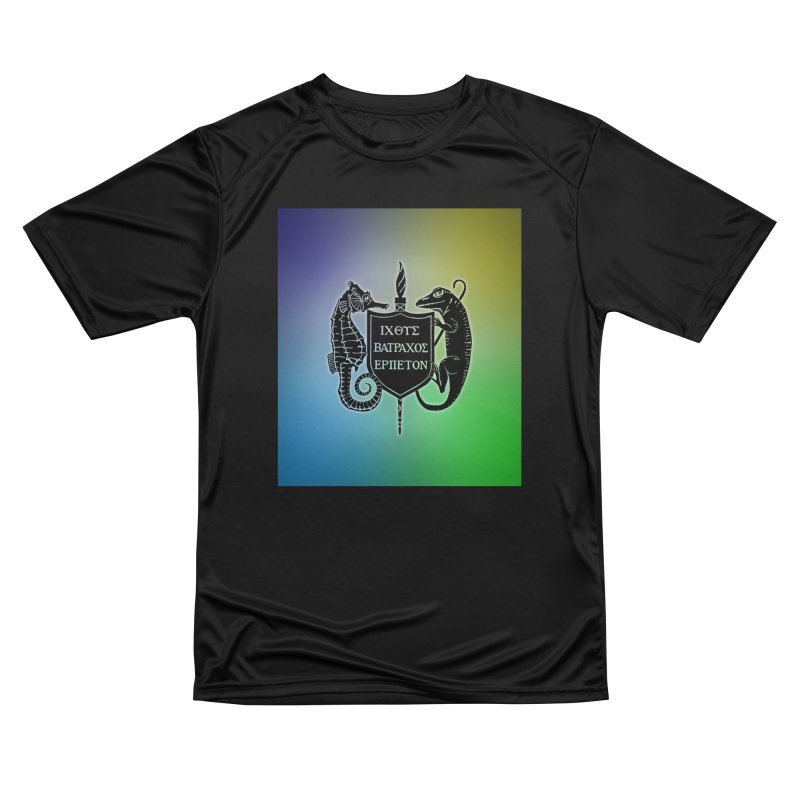 Rainbow Back Logo Men T-Shirt by Amer. Society of Ichthyologists & Herpetologists