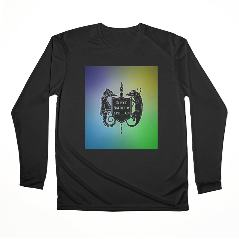 Rainbow Back Logo Women Longsleeve T-Shirt by Amer. Society of Ichthyologists & Herpetologists