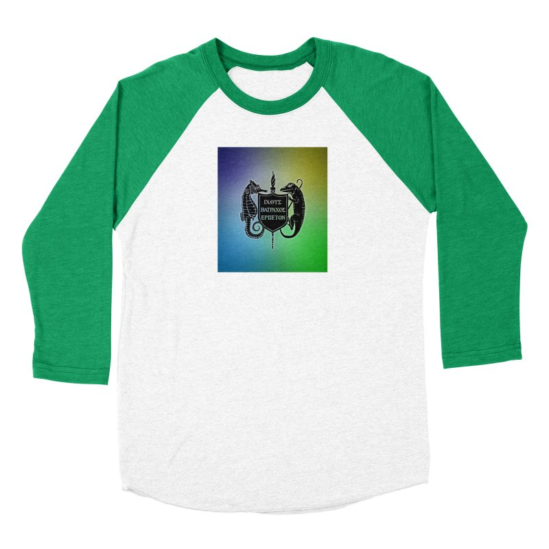 Rainbow Back Logo Men Longsleeve T-Shirt by Amer. Society of Ichthyologists & Herpetologists