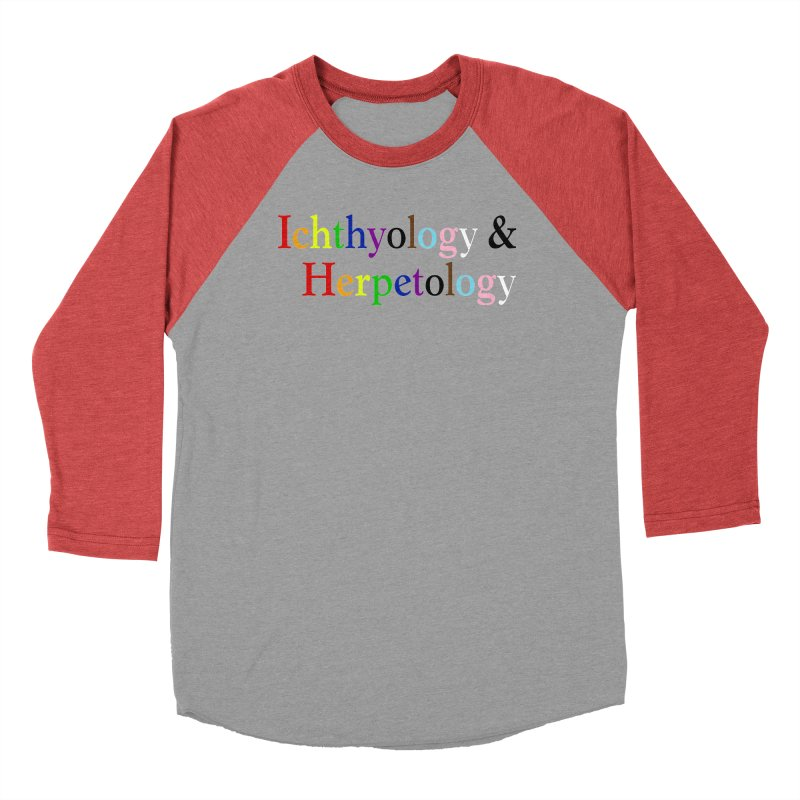 Inclusive Ichthyology & Herpetology Men Longsleeve T-Shirt by Amer. Society of Ichthyologists & Herpetologists