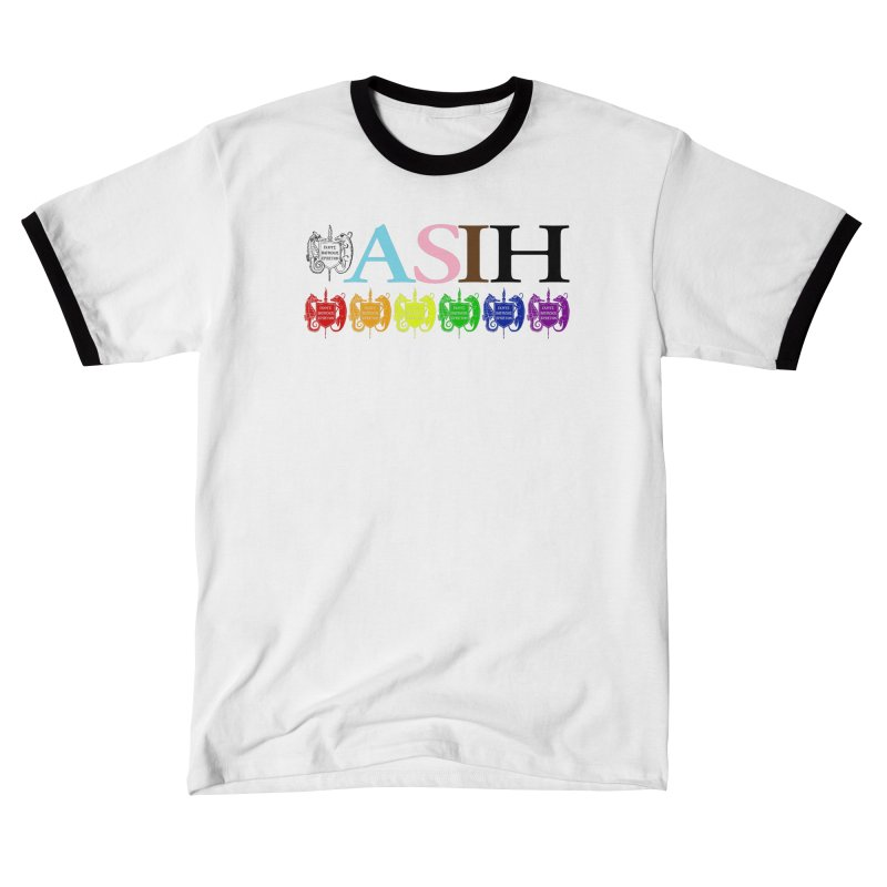 Inclusive ASIH with Colored Logos Men T-Shirt by Amer. Society of Ichthyologists & Herpetologists