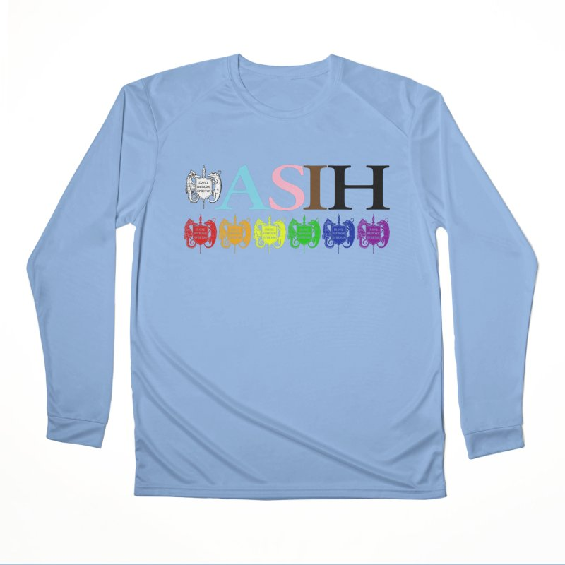 Inclusive ASIH with Colored Logos Men Longsleeve T-Shirt by Amer. Society of Ichthyologists & Herpetologists