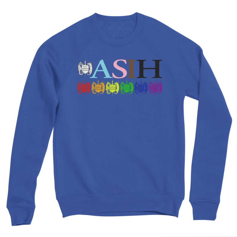 Inclusive ASIH with Colored Logos Men Sweatshirt by Amer. Society of Ichthyologists & Herpetologists
