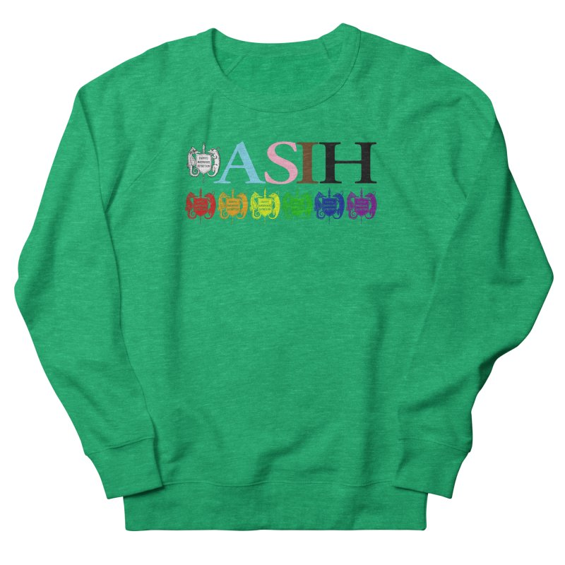 Inclusive ASIH with Colored Logos Women Sweatshirt by Amer. Society of Ichthyologists & Herpetologists