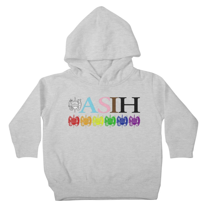 Inclusive ASIH with Colored Logos Kids and Babies Toddler Pullover Hoody by Amer. Society of Ichthyologists & Herpetologists