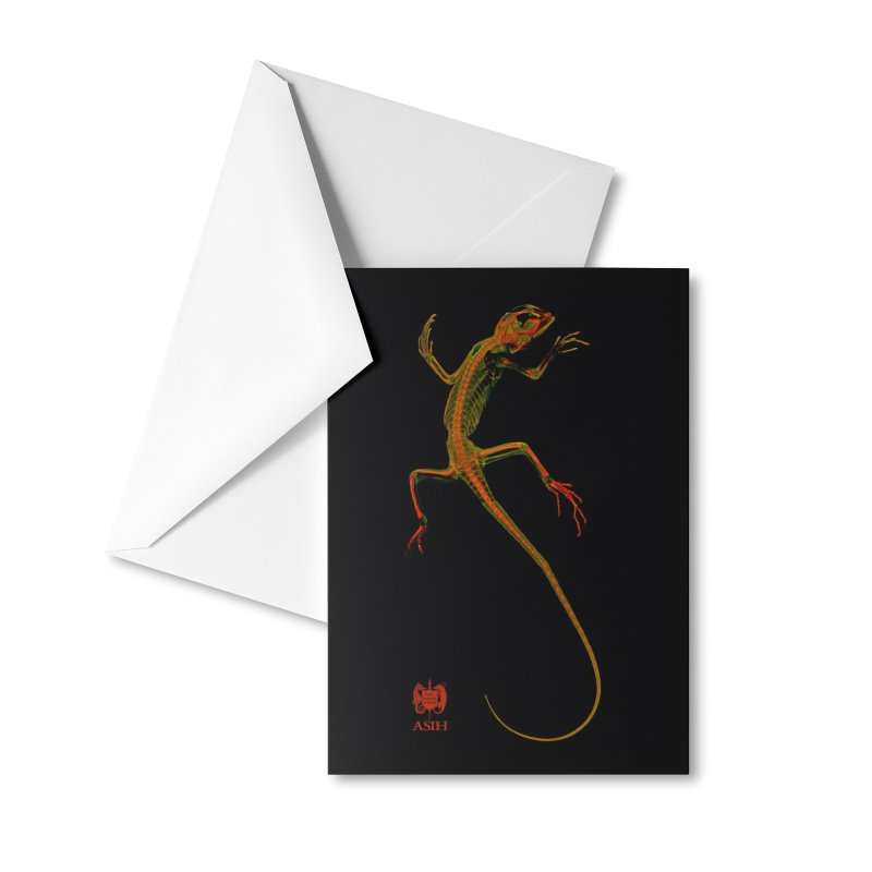 Tree Runner Masks, Mugs, Notebooks, and Fun Stuff Greeting Card by Amer. Society of Ichthyologists & Herpetologists