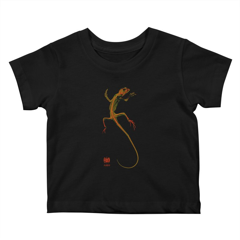 Tree Runner Kids and Babies Baby T-Shirt by Amer. Society of Ichthyologists & Herpetologists