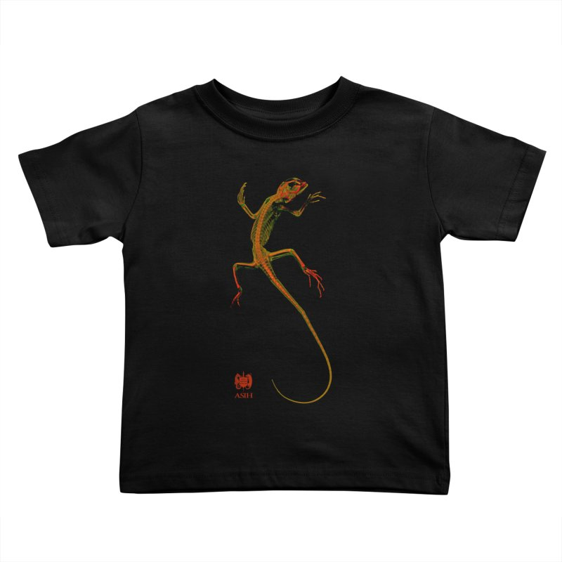 Tree Runner Kids and Babies Toddler T-Shirt by Amer. Society of Ichthyologists & Herpetologists