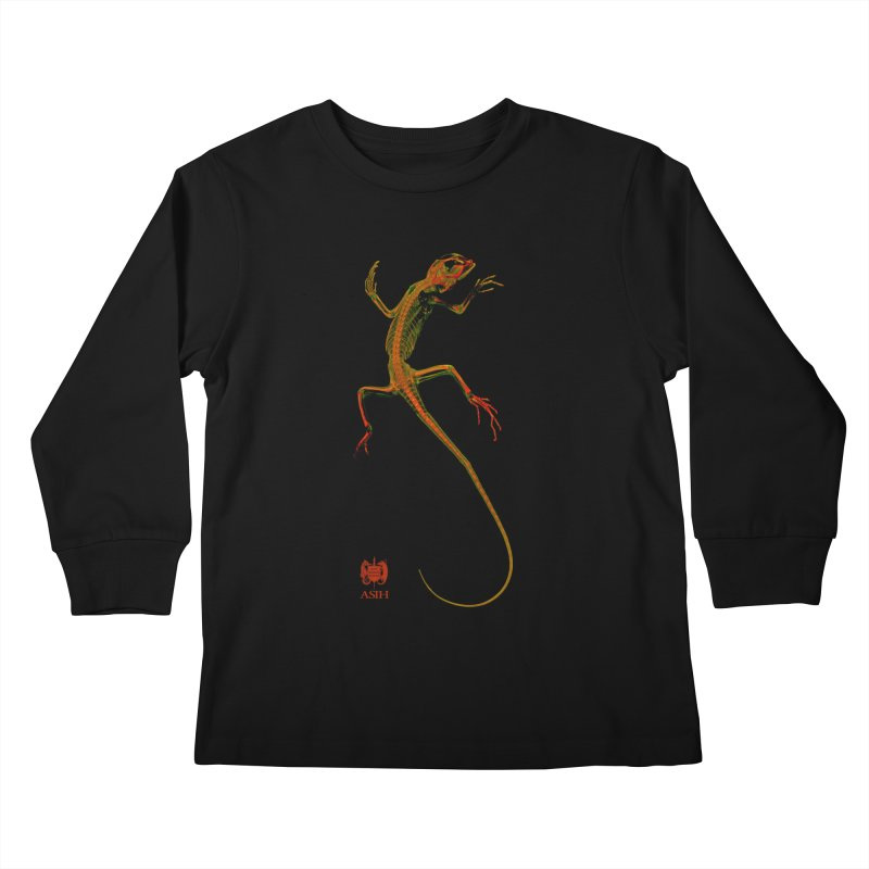 Tree Runner Kids and Babies Longsleeve T-Shirt by Amer. Society of Ichthyologists & Herpetologists